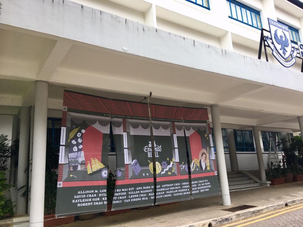 OpenHouse Kunstaustellung am Emerald Hill, Singapur
