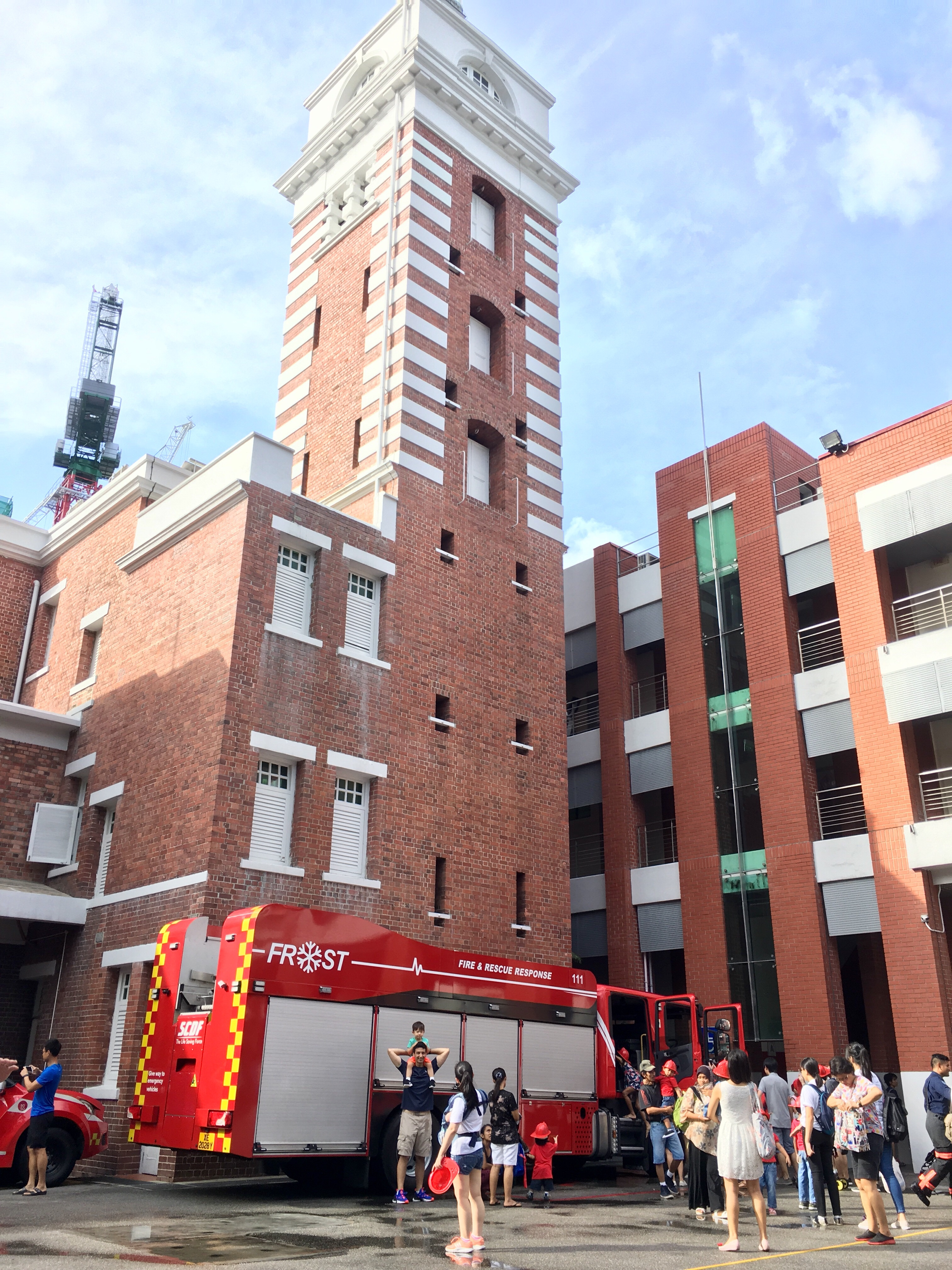 Central Fire Station, Singapore